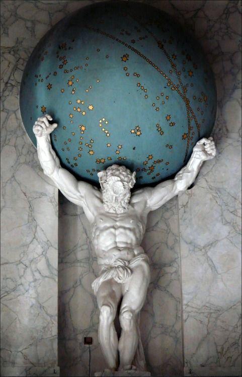 atlas segun la mitologia griega