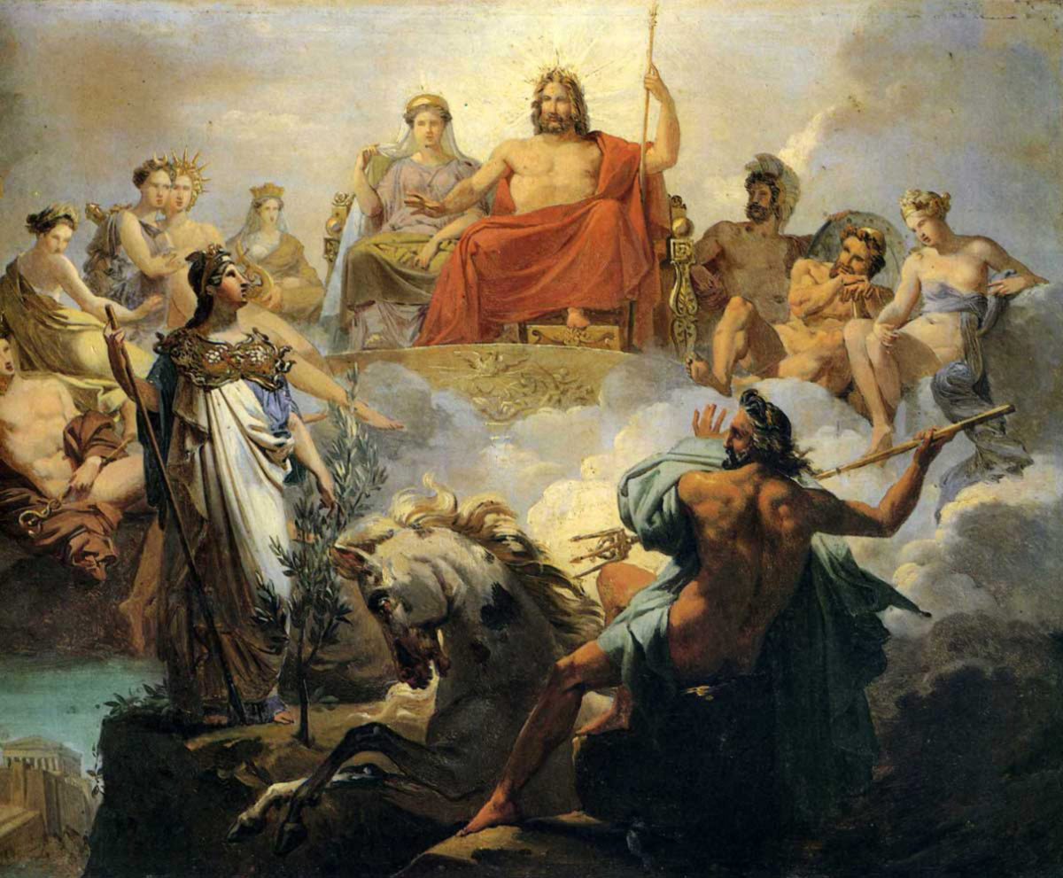 Dioses de la Mitología Griega   Dioses Griegos, Dioses del