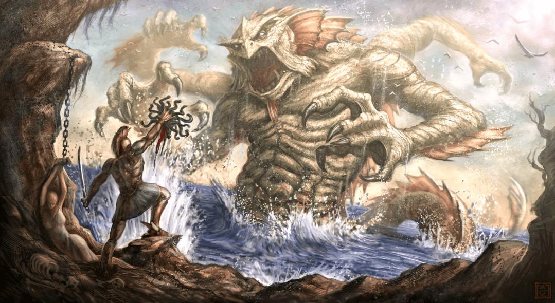 perseo contra el kraken