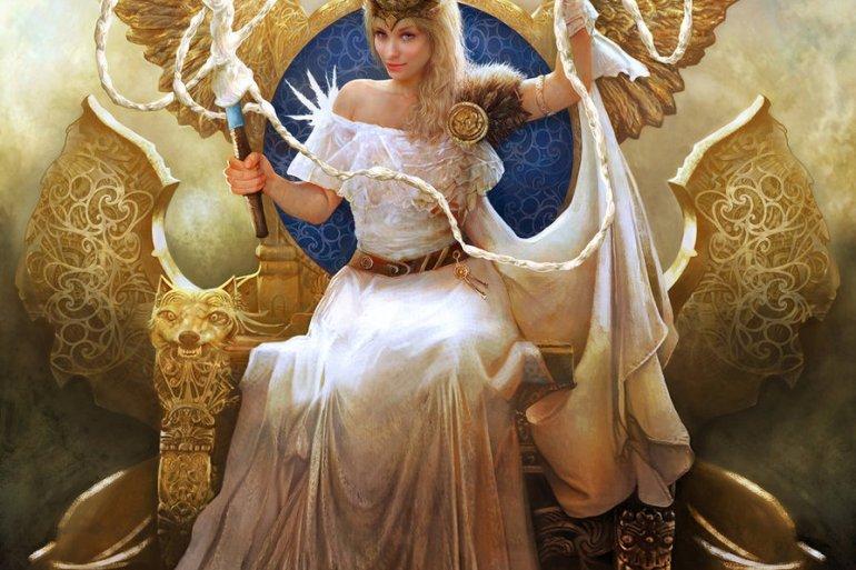 descubre todo sobre frigg la diosa del cielo y reina