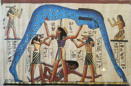 mito de la creación egipcio