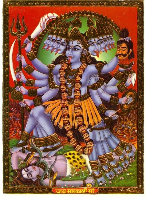 La diosa kali 11