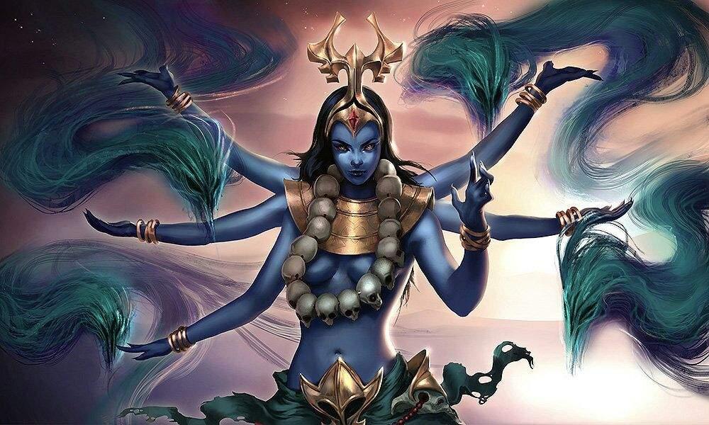 La diosa kali 12