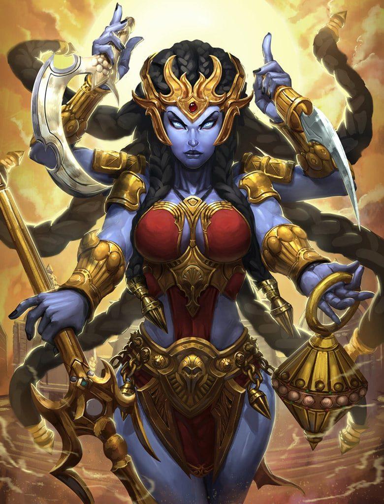 La diosa kali 13