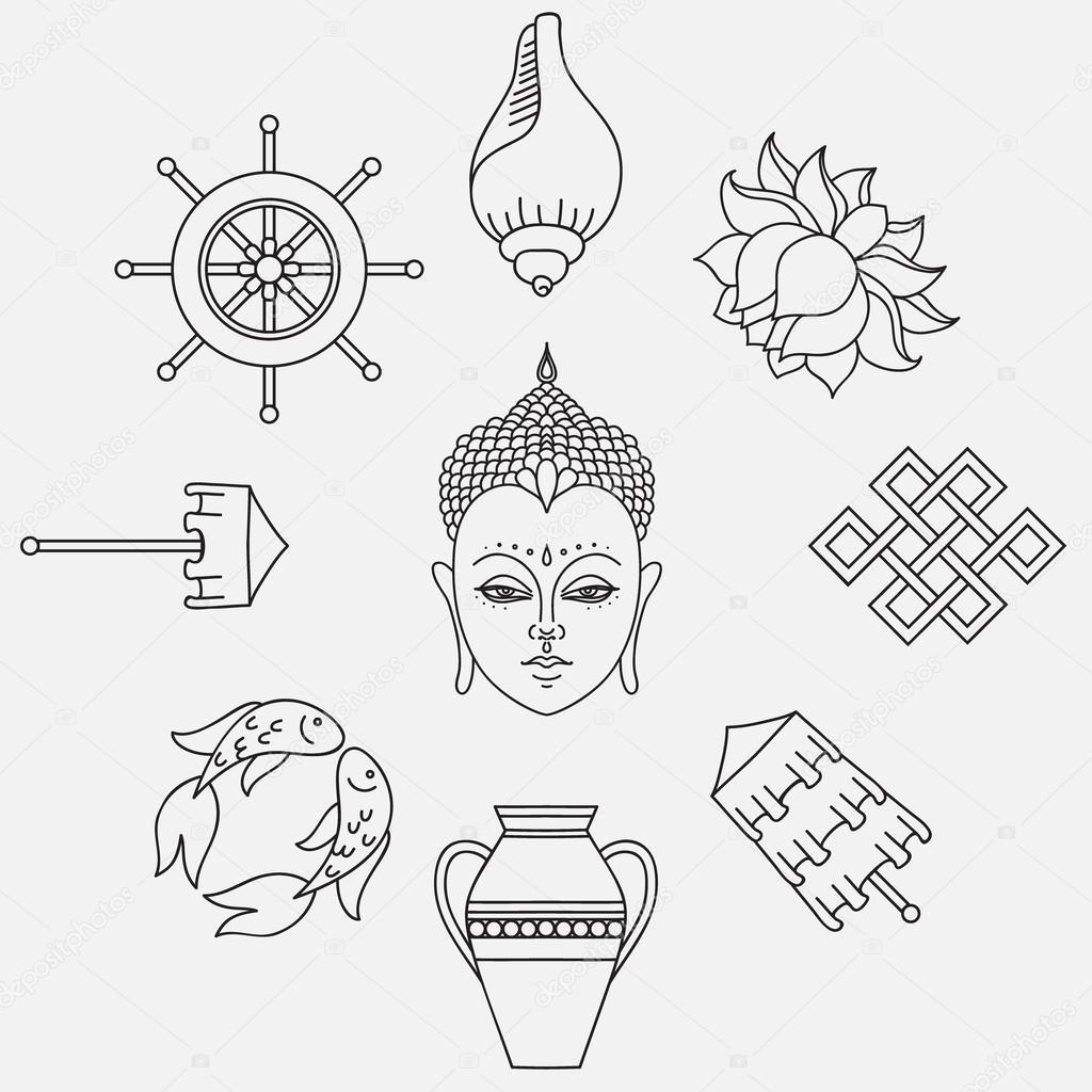 Simbolos del budismo