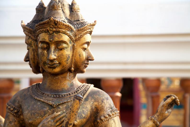Brahma y Vishnu 16