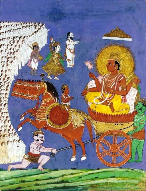 ¿Quieres saber quién es Aruná en la mitología hindú? Apréndelo aquí