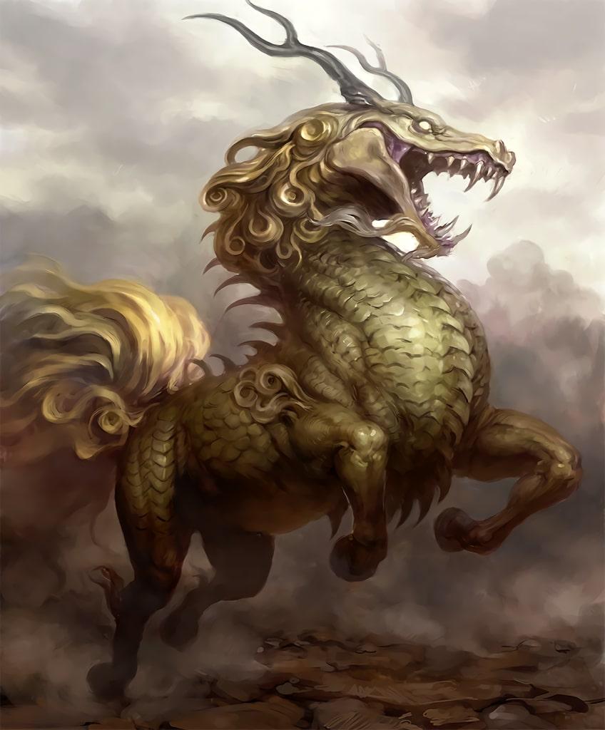 Aprende todo sobre Qilin, en la mitología japonesa