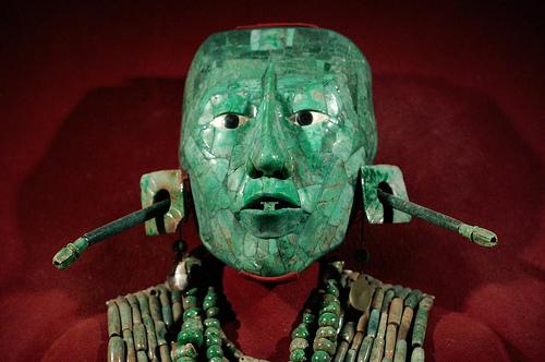 Máscara de Pakal el Grande