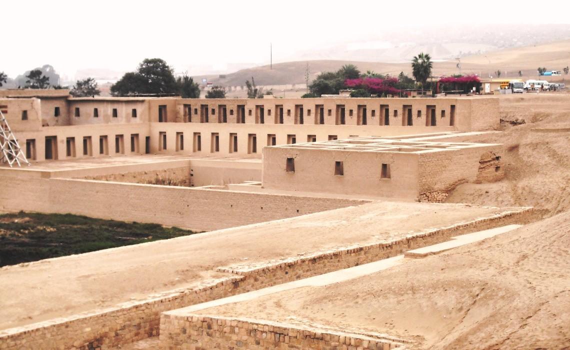 Sitio arqueológico Pachacámac, historia del santuario