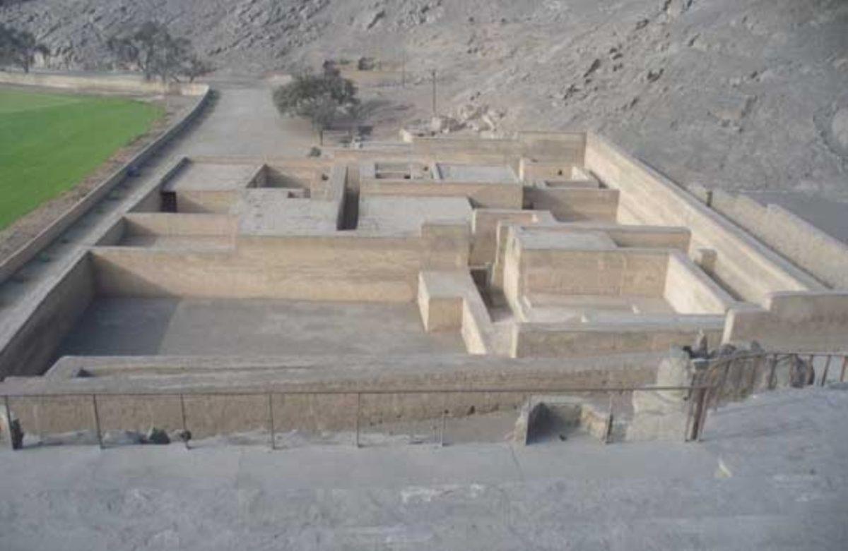 Sitio arqueológico Puruchuco, centro administrativo del período Ychma