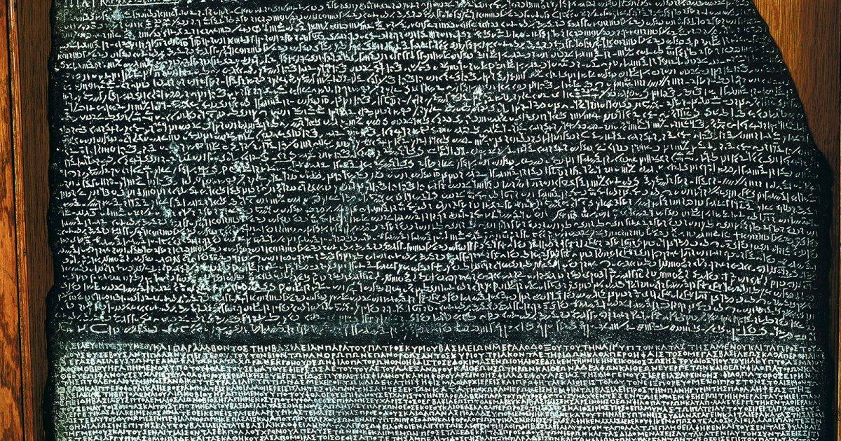 Piedra de Rosetta, toda su historia y sus tres inscripciones